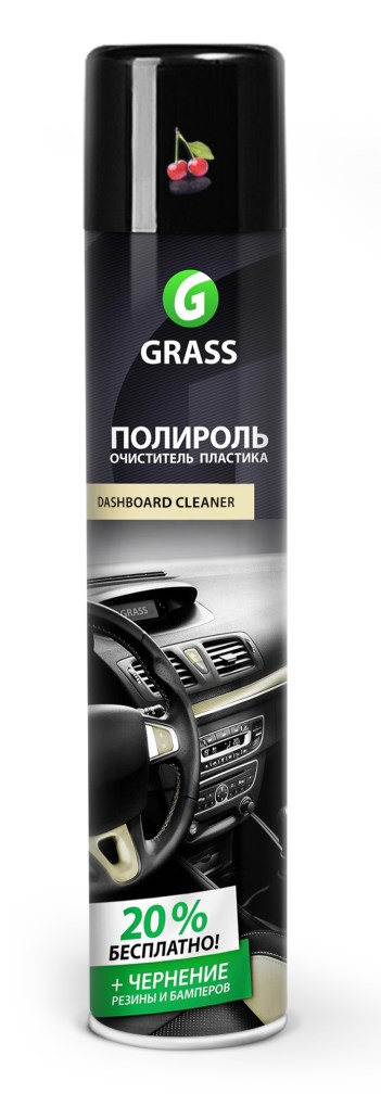 Полироль пластика Dashboard Cleaner (вишня) 750мл